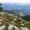 Vue sur le Daluis et le Val d'Entraunes
