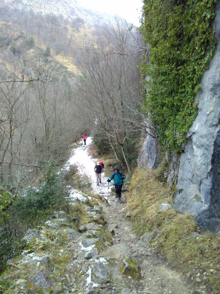 Alti Plus  Les crêtes du Cheiron depuis Coursegoules